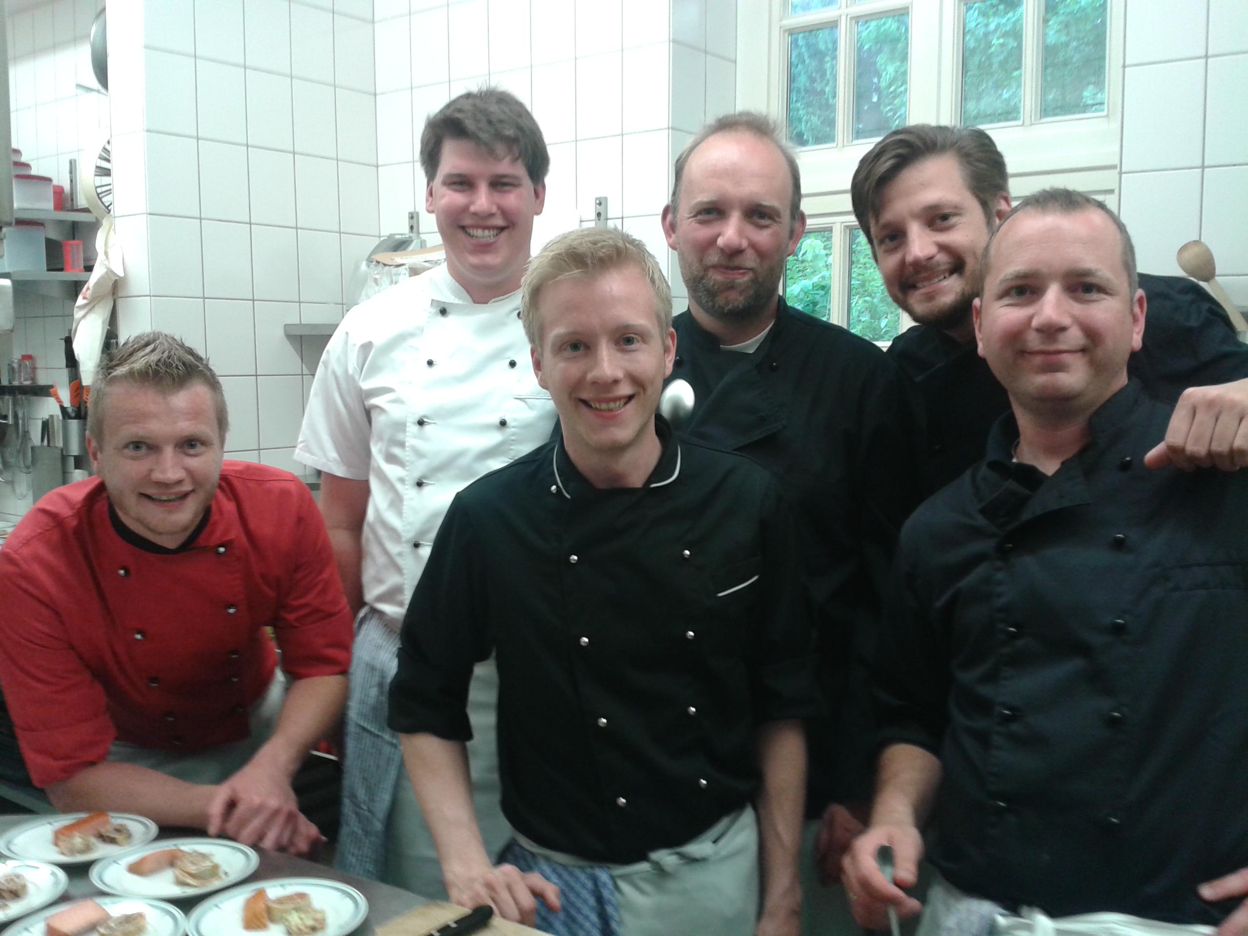 """Die """"Kochprofis"""" des Round Table 20 Wilhelmshaven."""